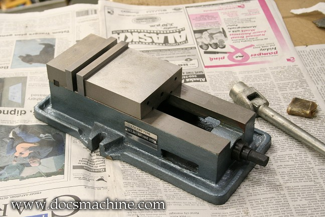 4 Inch Mill Vise