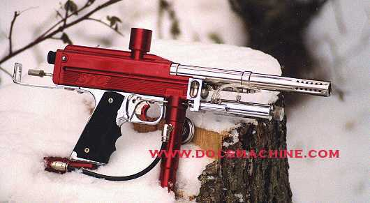 Red and chrome WGP STO Autococker